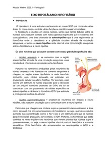 FISIOLOGIA DO EIXO HIPOTÁLAMO-HIPOFISÁRIO