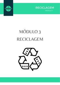 MODULO 3 RECICLAGEM