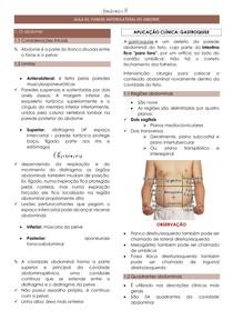Introdução - Parede anterolateral do abdome