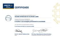 A mulher e sua atuação profissional na sociedade -SUZANA APARECIDA DE OLIVEIRA LAGNI