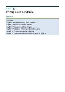 Principios de exodontia -Cirurgia Oral e Maxilofacial Contemporânea 6ª Edição - Hupp