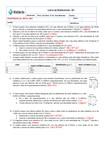 Lista de Exercícios Gabaritada de Estrutura Cristalina - Prof. Nélia Lima