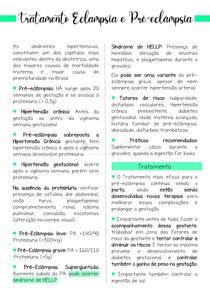 Eclampsia e Pré eclampsia