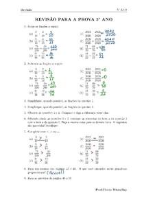ENEM- Exercicios Resolvidos de frações