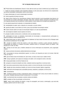 ESTUDO TRT 15
