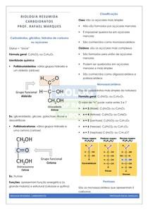 Biologia Molecular 03 - Glicídios - Resumo