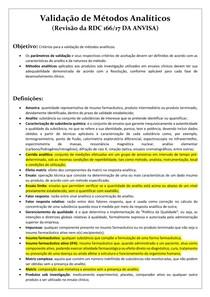 Revisão RDC 166-17