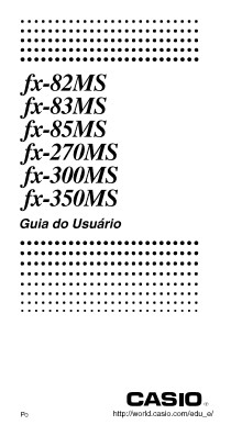 manual casio calculadora cientifica