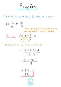 Frações- Exercício 1