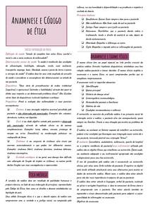 Resumo Semiologia 1