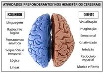 Atividades Preponderantes nos Hemisférios Cerebrais