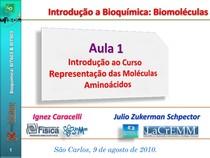 Representao Das Moleculas Aminocidos
