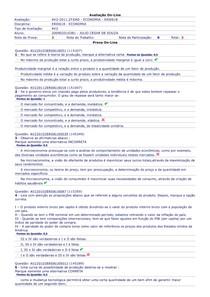 AV2 Economia