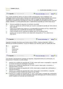 EXERCICIOS PREVIDENCIÁRIO AULAS 1 A 4