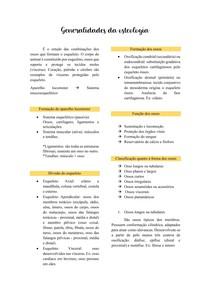 Generalidades da osteologia