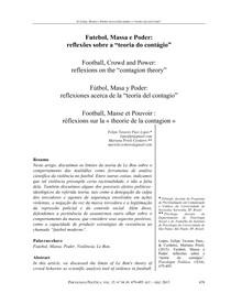 Artigo   Futebol, massa e poder