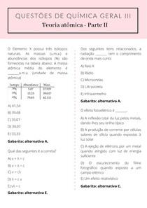 Questões de química geral III - Parte 2
