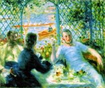 Renoir - He canoeists luncheon