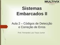 Códigos+de+Detecção+e+Correção+de+Erros