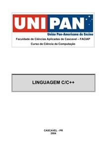 Linguagem C/C++ - UNIPAN