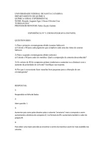 relatório da experiência nº6
