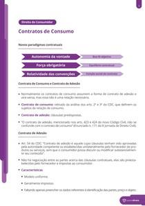 Contratos de consumo - Resumo