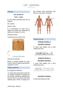 INTRODUÇÃO A ANATOMIA + PLANOS E EIXOS