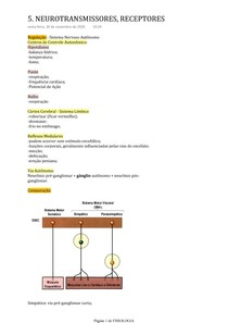 NEUROTRANSMISSORES, RECEPTORES