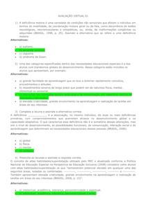 AVALIAÇÃO VIRTUAL 01