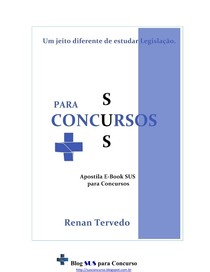 Apostila E book SUS para Concursos   2013