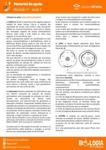 Módulo 5 - aula 7 - Monocotiledôneas e Dicotiledôneas
