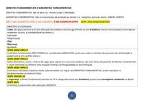 4 DIREITOS E GARANTIAS FUNDAMENTAIS - PRINC DA ISONOMIA - INVIOLABILIDADES - LIBERDADE - PROPRIEDADE