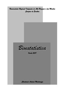 Martinazzo 2009   Bioestatistica