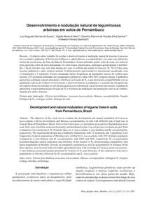 2007_-_Desenvolvimento_e_nodulacao_natural_de_leguminosas_arboreas_em_solos_de_Pernambuco
