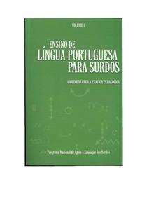 Ensino de lingua portuguesa para surdos - Volume 1
