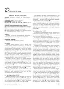 endocrinologia diabetes gestacional