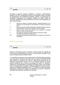 AVALIANDO O PARENDIZADO 3
