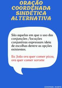 Oração Coordenada Sindética Alternativa (1)