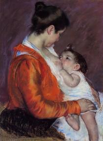 Mary Cassat - louise_nursing_her_child