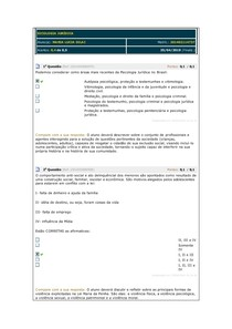 SICOLOGIA JURÍDICA simulados