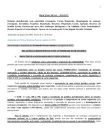 PROCESSO PENAL - PONTO7º