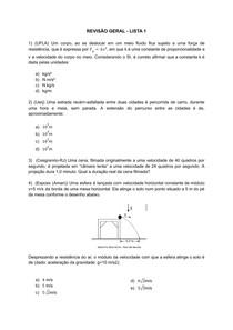 Simulado Física - 1