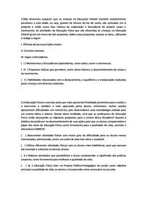 QUESTÕES OBJETIVAS DE JOGOS, BRINQUEDOS E BRINCADEIRAS
