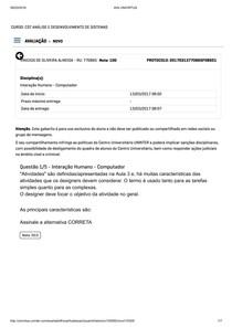 INTERAÇÃO HUMANO   COMPUTADOR apol2