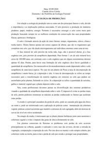 PORTIFÓLIO DE ECOLOGIA FLORESTAL