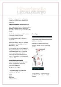 Patologia - Hipertensão