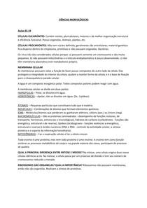 CM - Resumo P1