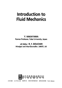 Introduction to Fluid Mechanics - Y  Nakayama - Dinâmica dos
