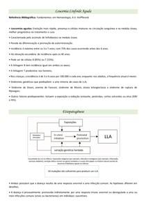 Resumo - Leucemia Linfoide Aguda