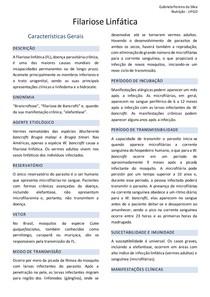 Epidemiologia - Filariose linfática